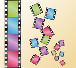 vector of film