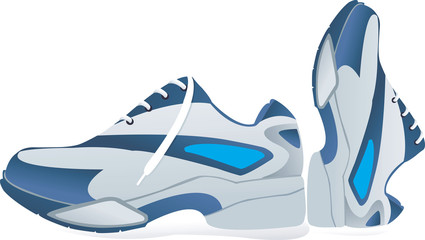 Sports shoes using in sports