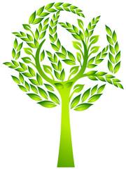 Baum- Blätter