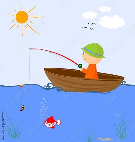 видео как нарисовать рыбалку