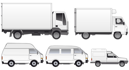 flota vehículos furgoneta