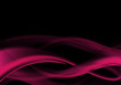 abstract black and pink design