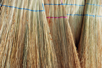 besom , close up