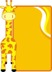 giraffe background09