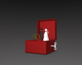 wedding figure box