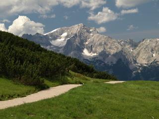 Grosser Priel in den Alpen Österreichs