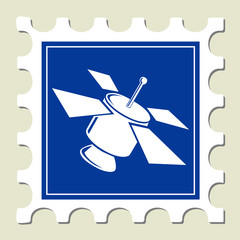 Satellite Sign Stamp