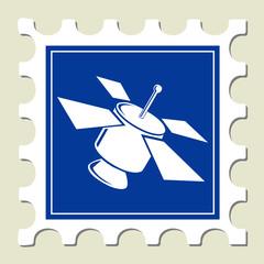Satellite Sign Stamp
