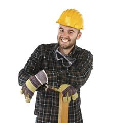 friendly confident handyman