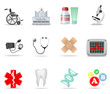Medical and health care icons. Part 1