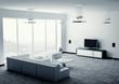 Wohnzimmer 3d render