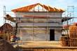 Neubau Bauplatz Rohbau Hausbau Einfamilienhaus