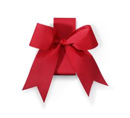 Geschenkschleife rot