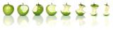 Fototapety eating green apples