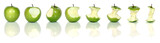 eating green apples - 18863755