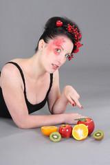 das Obstzeigen