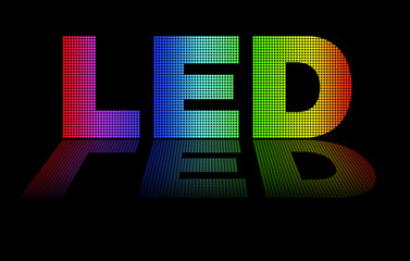 Led, optical art