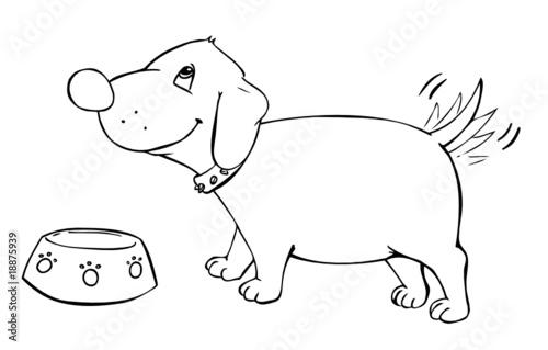 dackel hund dog w rstchen wurst haustier stockfotos und lizenzfreie vektoren auf fotolia. Black Bedroom Furniture Sets. Home Design Ideas