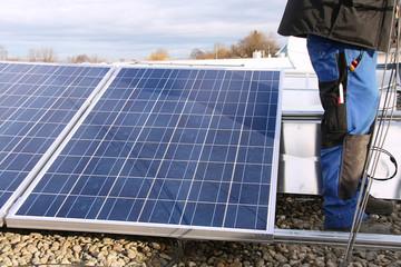 Solar assembling