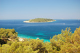 Croatian island poster