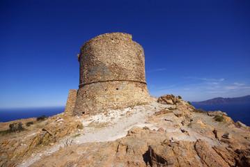 Francia, Corsica, la Tour de Turghiu sul Capu Rossu