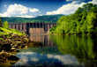 Leinwanddruck Bild - hydroelectric power station
