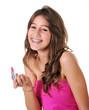 sonrisa adolescente