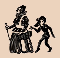 market thief etching