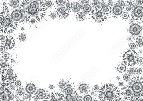 Cosmic grayscale background