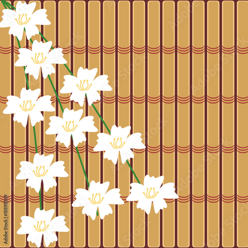 japanese style background with cherry flowers from Elena Kravchuk