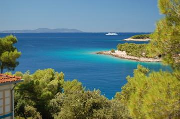 Plaża - Brac - Chorwacja