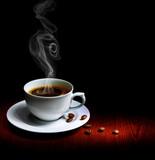 Fototapeta warsztat - granica - Kawa / Herbata / Czekolada