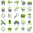 icons green