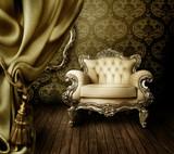 Fototapete Wand - Stühle - Dekoration
