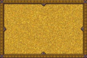 Borde con fondo de textura piedra amarilla