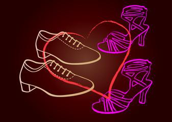 pareja + pies