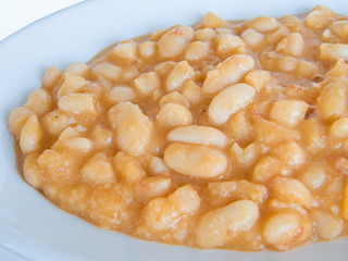 Beans plate