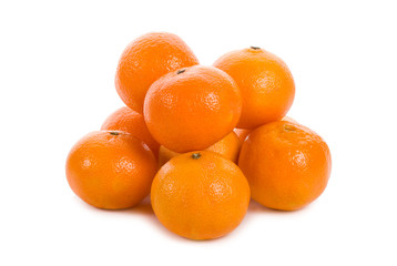 heap of tangerines