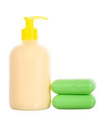 soap liquid and toilet
