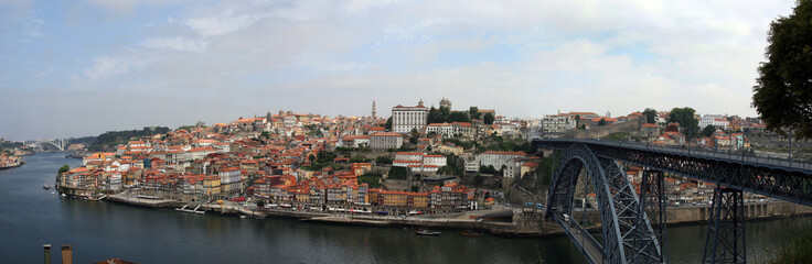 Downtown area of Porto