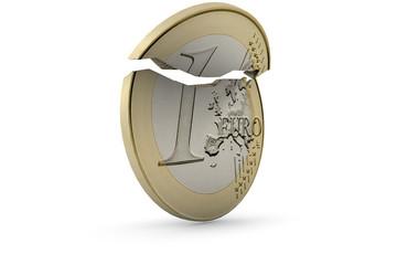 Euro crashing