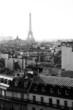 Tour Eiffel vue du sommet de Paris
