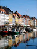 Picturesque Nyhavn in Copenhagen, Denmark