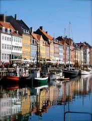 Picturesque Nyhavn in Copenhagen, Denmark