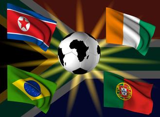 Squadre girone G Campionato del Mondo 2010