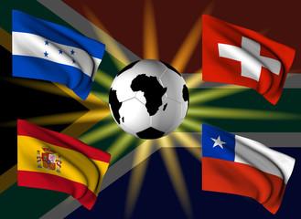 Squadre girone H Campionato del Mondo 2010