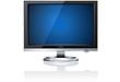 LCD Monitor Purple