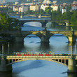 bridges, Prague, Czech Republic