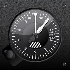 Altimetro avion
