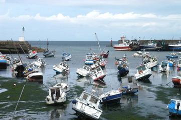 Bassa Marea - Barfleur - Normandia - Francia